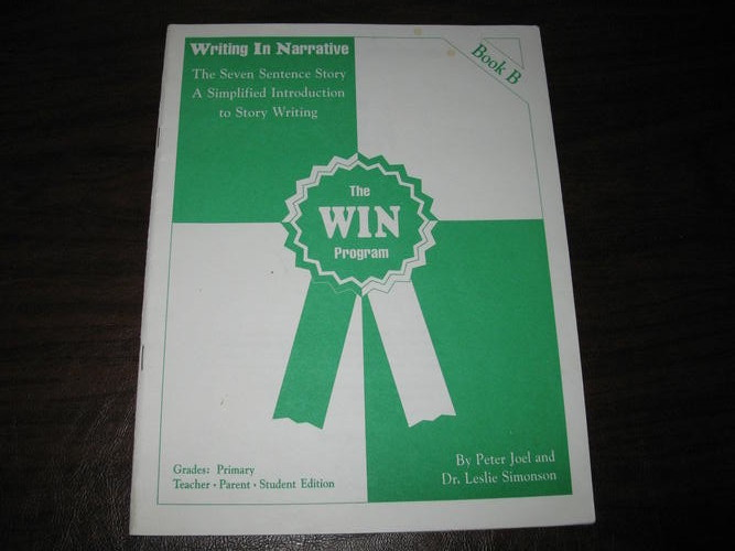 Writing in Narrative: The 7 Sentence Story A Simplified Intro to Story  Writing Bk | Jamestown, ND