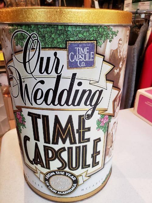 Wedding Time Capsule Contains Booklet Excellent Amp Fun Wedding