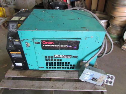 Onan CMQD 5500 Cummins Power Generator Glendive MT